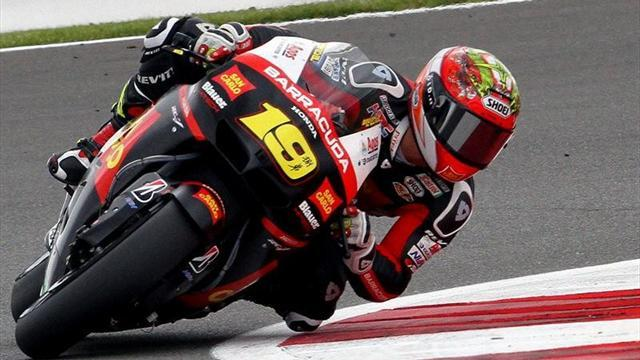 Bautista top in wet conditions