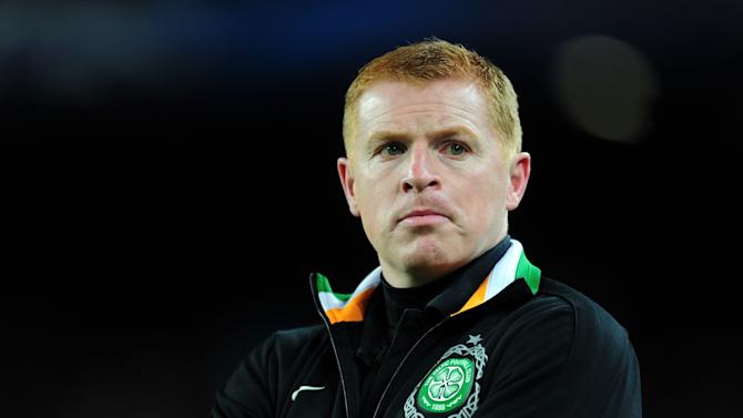Celtic manager Neil Lennon was not too downbeat despite losing late on against Barcelona