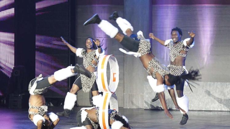 "Zuma Zuma (tumblers) is one of the Top 48 acts on Season 6 of ""America's Got Talent."""