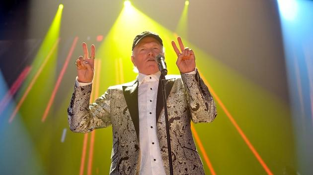 Mike Love of The Beach Boys performs during their final concert on their 50th Anniversary tour at Wembley Arena, London, on September 28, 2012 -- Getty Images
