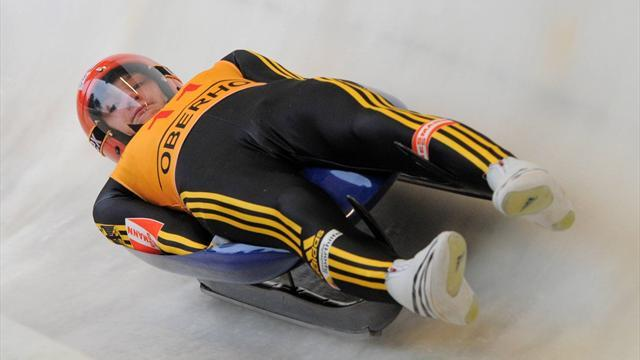 Luge - Eissler claims victory in first ever luge World Cup outing