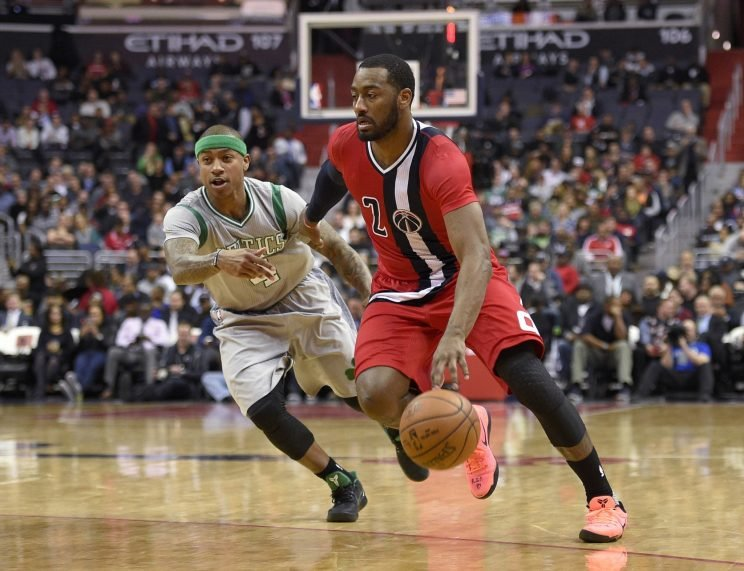 John Wall and the Wizards were tremendous on Tuesday night. (AP)