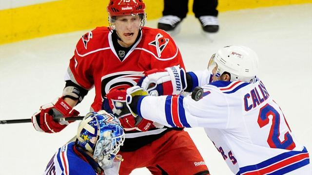 Ice Hockey - Rangers clinch play-off berth