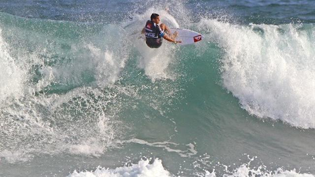 Surfing - Boukhiam earns highest score in Rio