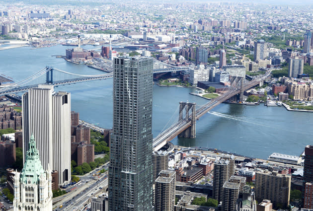 One World Trade Center Becomes Tallest Building In New York