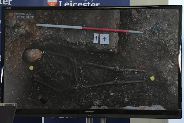 University Of Leicester Makes Announcement Following Discovery Of Human Remains Which Are Possibly King Richard III
