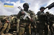 Ukraine deploys troops against separatists