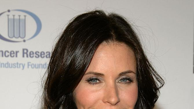 Courteney Cox-Arquette  arrives at the Unforgettable Evening Benefiting The Entertainment Industry Foundation held at the Beverly Wilshire Hotel on February 10, 2009 in Beverly Hills, California.