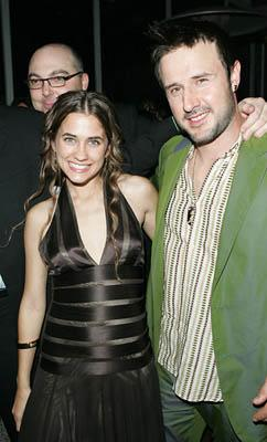 Katie Chonacas and David Arquette Slingshot premiere - Tribeca Film Festival April 26, 2005 - New York, NY