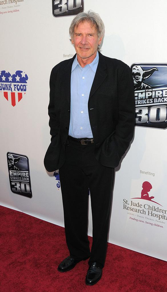 The Empire Strikes Back 30th Anniversary Charity Screening Event 2010 Harrison Ford