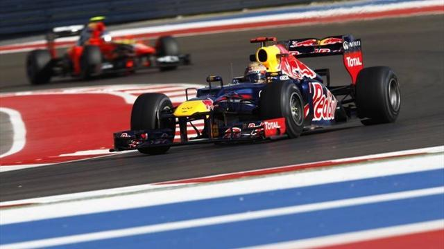 Grand Prix USA - Vettel dominiert in Texas nach Belieben