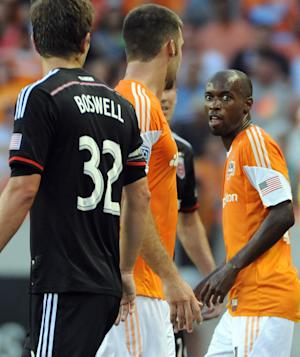 Dynamo beats United 1-0 with 91st-minute goal