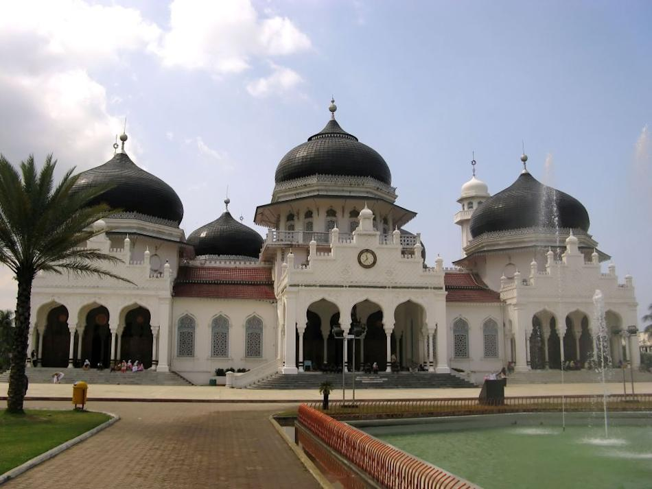 Baiturrahman Grand Mosque, Banda Aceh, Indonesia