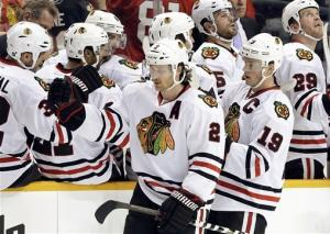 Chicago beats Predators 3-0 for 4th straight win