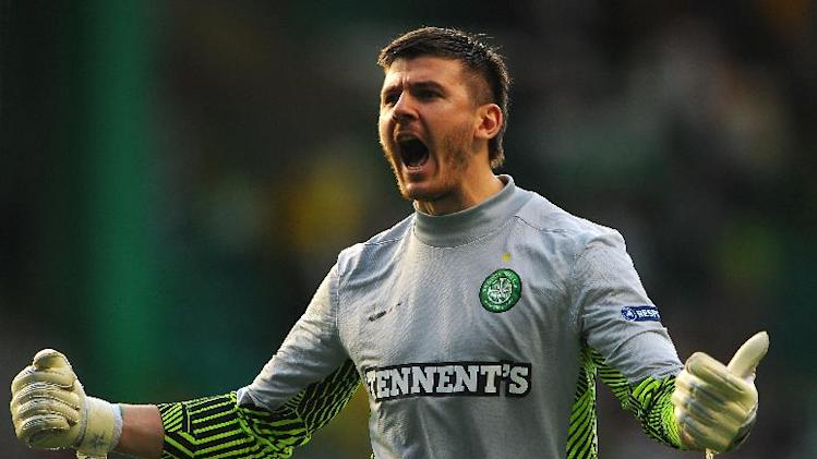 Lukasz Zaluska has got his eye on the number one jersey at Celtic this season