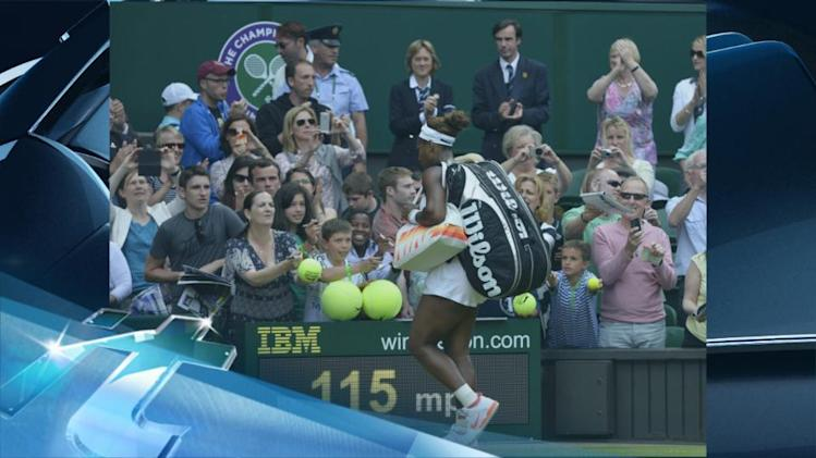 Breaking News Headlines: Serena Williams Defeated at Wimbledon