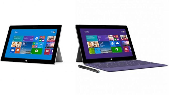 As Apple Prepares to Announce New iPads, Microsoft's Surface 2 Goes On Sale
