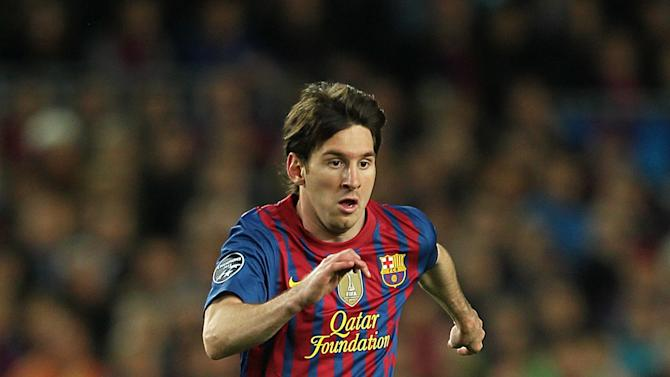 Lassad Nouioui insists Lionel Messi, pictured, and co can be beaten