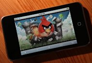 "An image of the popular video game ""Angry Birds"" is displayed on an iPod Touch in 2011. Finnish entertainment media company Rovio, creator of the global hit game ""Angry Birds"", said Friday it will launch successor ""Amazing Alex"", a remake of an existing idea, this year"