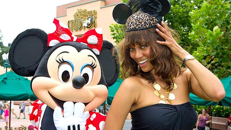 Tyra Banks Walt Disney World