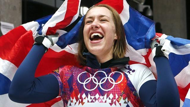Skeleton - Yarnold overwhelmed by support at homecoming parade