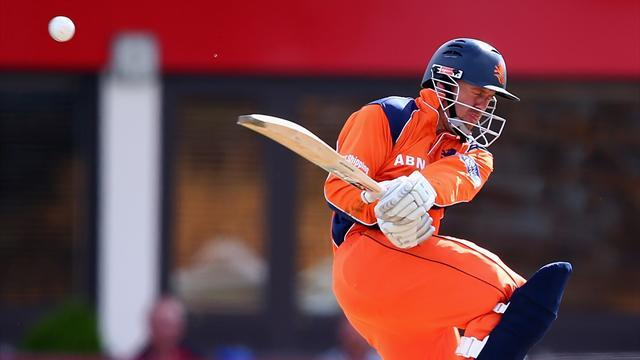 Cricket - Netherlands advance in World T20 after stunning run-chase