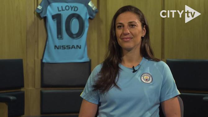USWNT star Carli Lloyd dishes on her 'unique opportunity' at Manchester City