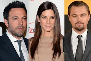 Ben Affleck, Sandra Bullock, Leonardo DiCaprio Among Final Round of Golden Globe Presenters