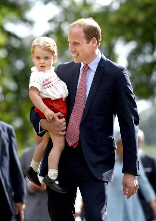Prince William is second in line to the throne and his eldest son George third, followed by George's little sister Charlotte -- a strong dynasty that could continue for another century