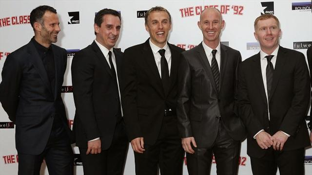 Premier League - Giggs to play for 'Class of 92' side