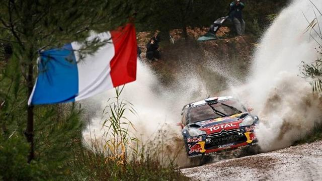 WRC - Loeb set for comfortable victory in Spain