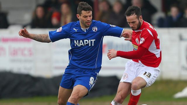 League Two - Molyneux treble downs Chesterfield