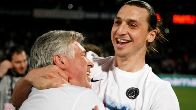 Ligue 1 - Ancelotti: I miss Zlatan