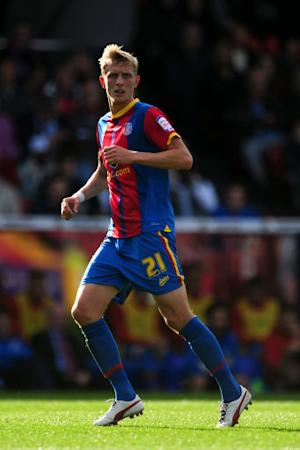 Dean Moxey's sending off made things difficult for Palace