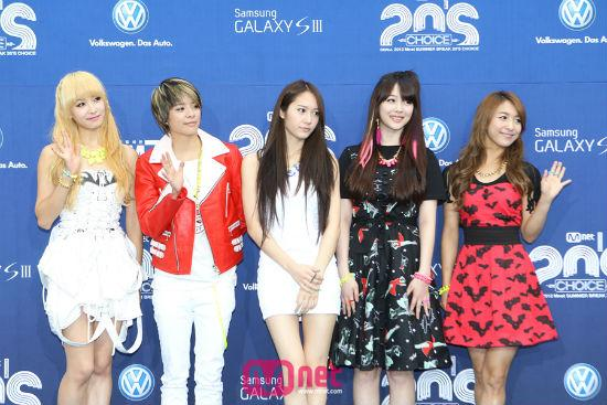 2012 Mnet 20's Choice Awards - f(x)