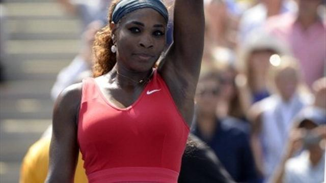 US Open - Serena continues defence with crushing win