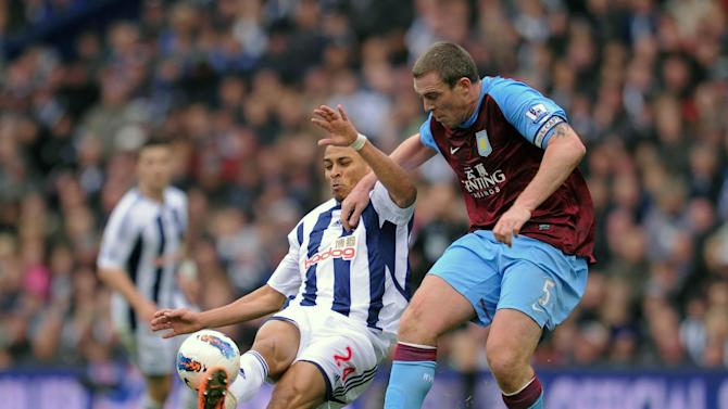 Peter Odemwingie and Richard Dunne