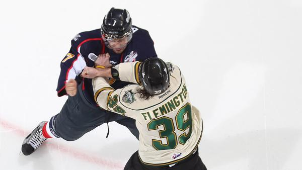 OHL fight Getty Images