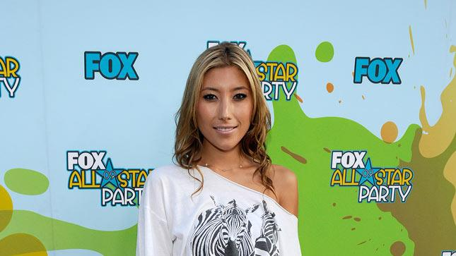 Dichen Lachman attends the 2009 FOX All-Star Party held at the Langham Hotel on August 6, 2009 in Pasadena, California.