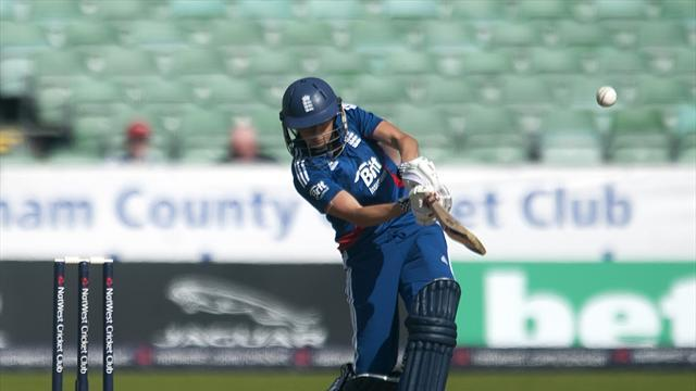Cricket - Record-breaking Edwards spurs England