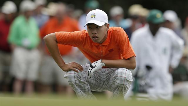 The Masters - Chinese teen ponders future after making splash