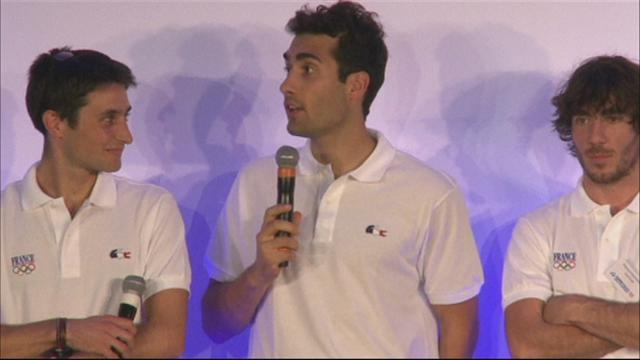 Winter Sports - French Olympic team presented in Paris