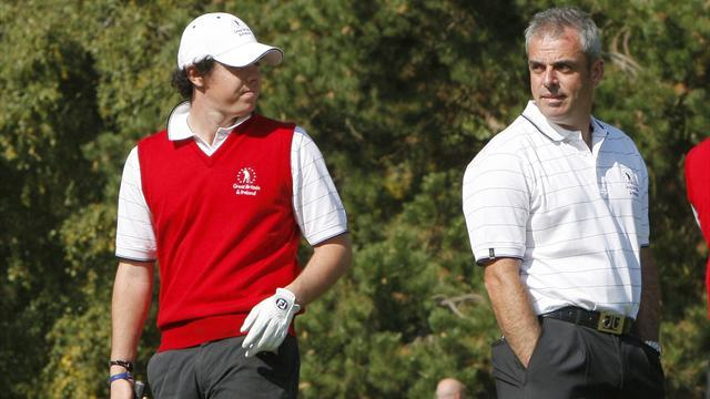 Ryder Cup - McIlroy wants McGinley to be Ryder Cup captain