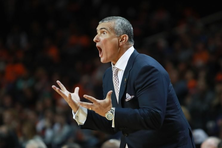 Frank Martin, one of the most intense coaches in college basketball, leads South Carolina into Kentucky Saturday with sole possession of first place in the SEC on the line. (Getty)