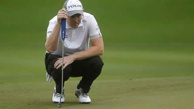 Golf - Gallacher, Bjorn share lead in Switzerland