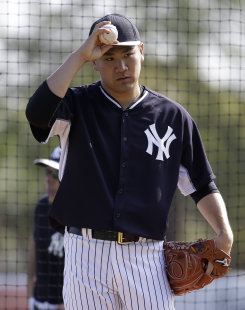 Yankees pitcher Masahiro Tanaka was on the disabled list for 2 1/2 months last season. (AP)