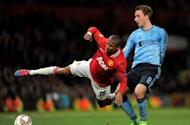 'He was swimming in the box' - Mancini accuses Ashley Young of diving