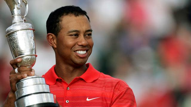 The Open Championship - Woods drawn with McDowell and Oosthuizen at Muirfield