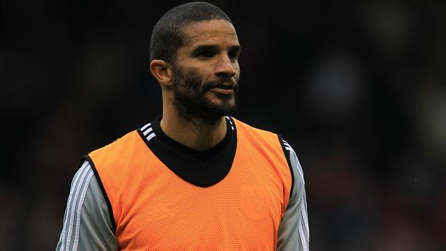 David James training with Bournemouth