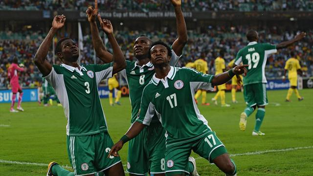 Football - Unconvincing Nigeria stride on to Confederations Cup